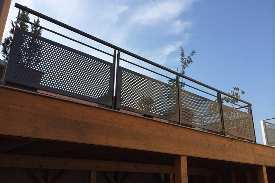 Garde corps inox for Hauteur balustrade